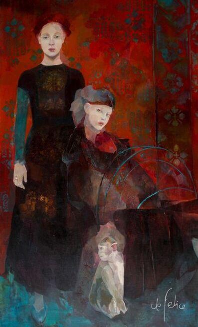 Françoise de Felice, 'Les rêveuses (the dreamers)', 2015