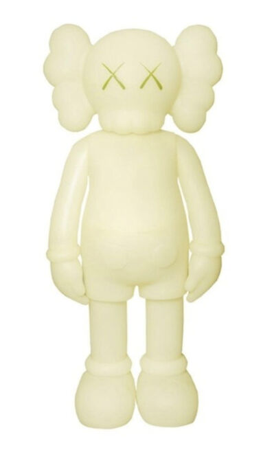 KAWS, 'Companion (5 Years Later) Glow-in-the-Dark Green', 2004