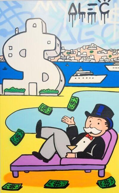 Alec Monopoly, 'Monopoly Poolside $antorini', 2019