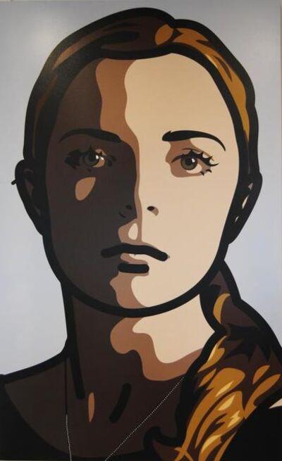 Julian Opie, 'LILY,EYES STRAIGHT,HEAD STRAIGHT', 2013