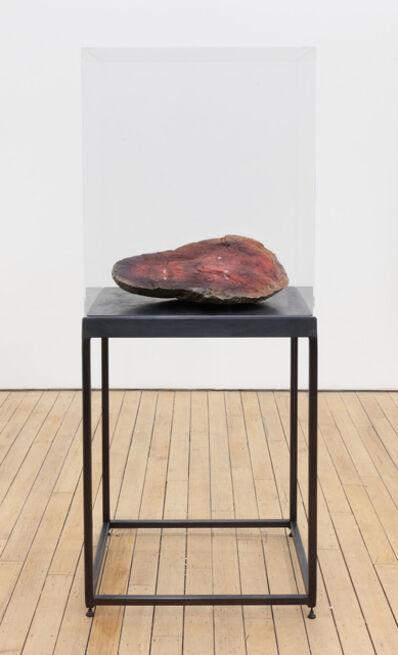 Curtis Talwst Santiago, 'Redface Ancestor Rock II', 2017