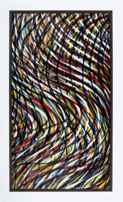 Sol LeWitt, 'Wavy Lines (Color)', 1995