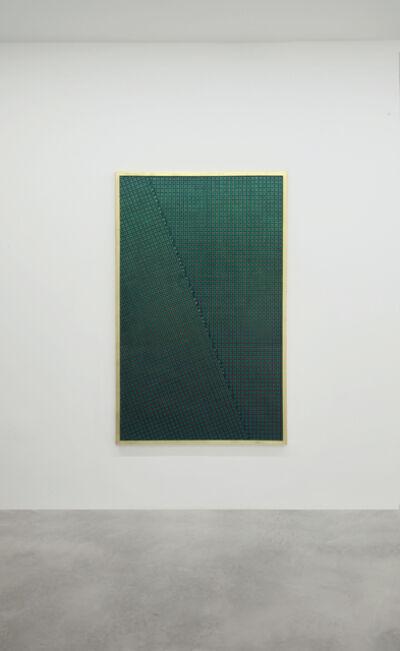Mario Nigro, 'Strutturazione simultanea-cinetica con variazione', 1956-1959