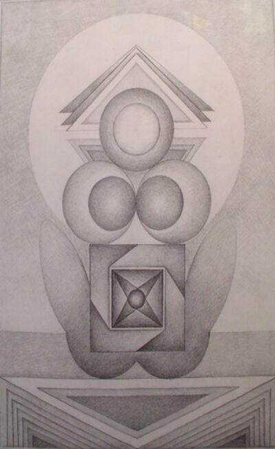 Gulam Rasool Santosh, 'Untitled (Pencil II)', No Date