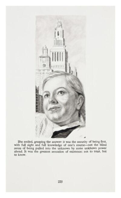 Yevgeniy Fiks, 'Ayn Rand in Illustrations (Atlas Shrugged, page 225)', 2010