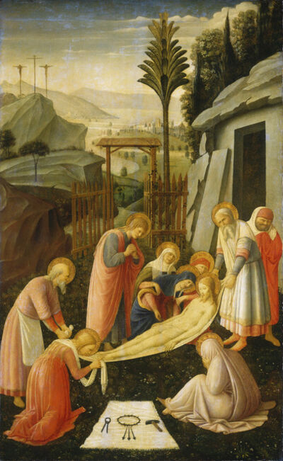Attributed to Fra Angelico, 'The Entombment of Christ', ca. 1450