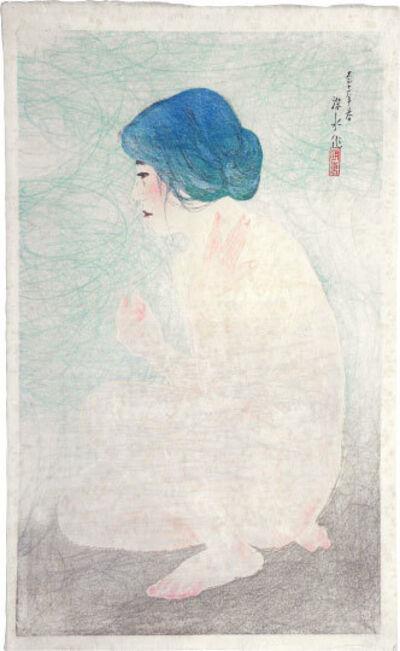Itō Shinsui, 'Twelve Images of Modern Beauties: Bathing in Early Summer', 1922