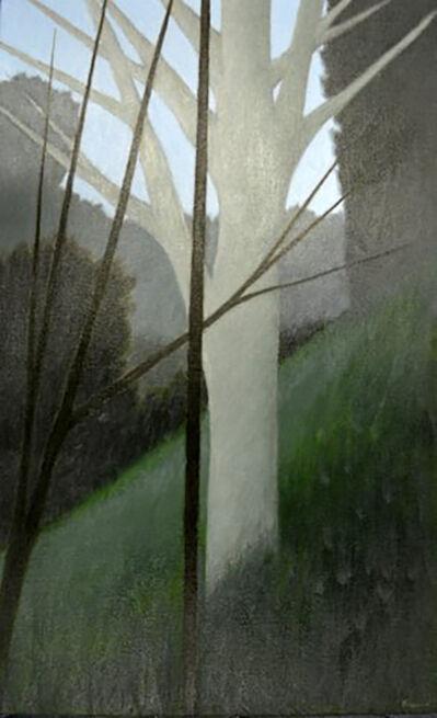 Robert Kipniss, 'Hillside W/Pale Tree'