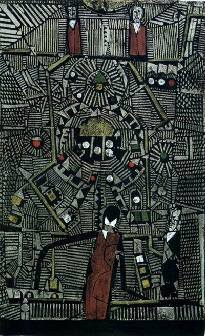 Horst Janssen, 'Spieltisch I', 1960-1970