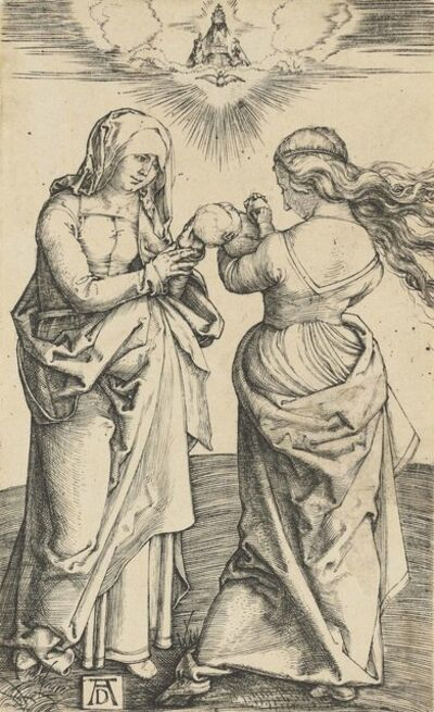 Albrecht Dürer, 'The Virgin and Child with Saint Anne', circa 1500