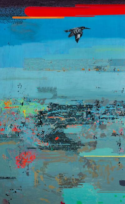 Clive van den Berg, 'A Kingfisher Passes', 2013