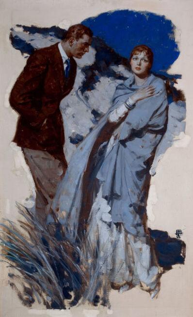 Saul Tepper, 'Couple Standing in Dunes'