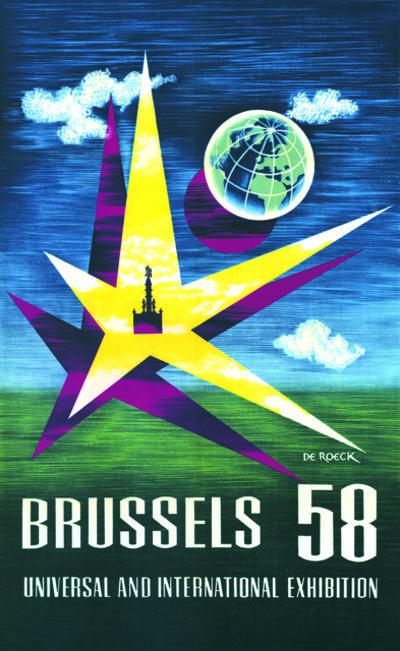 Lucien De Roeck, 'Affiche Expo 58'