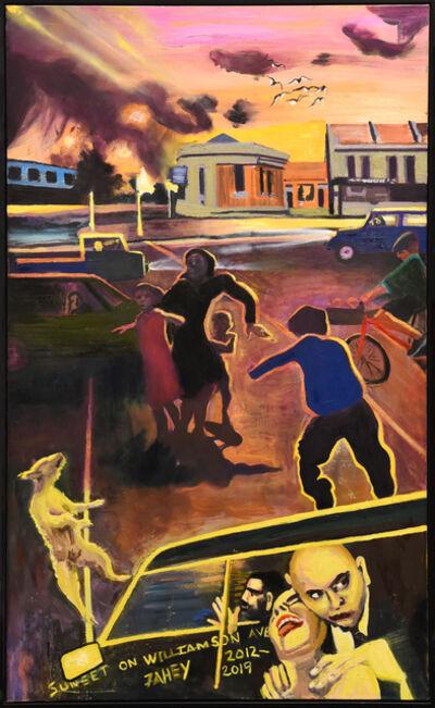Jacqueline Fahey, 'Sunset on Williamson Ave', 2012-2019