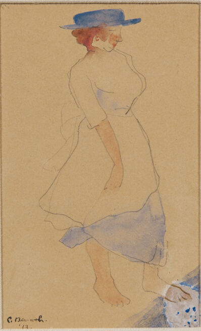 Charles Demuth, 'Blue Hat'
