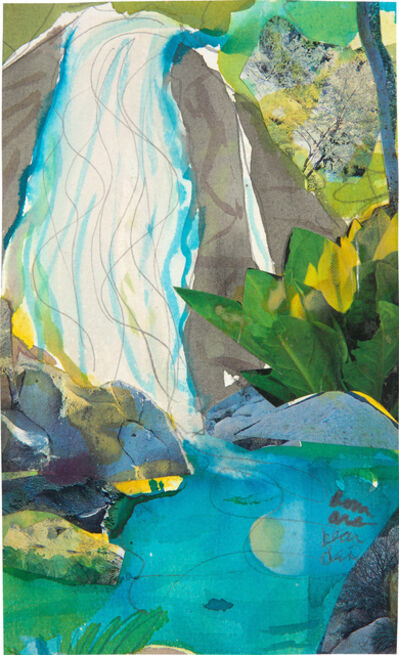 Romare Bearden, 'Martinique Waterfalls II', 1983-1984