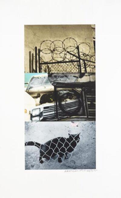 Robert Rauschenberg, 'Street Sounds East', 1995