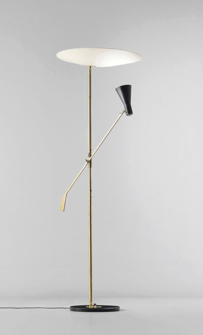 Gino Sarfatti, 'Rare adjustable standard lamp, variant of model no. 1050/1', circa 1955