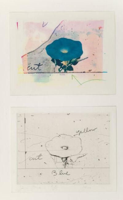 Jim Dine, 'Morning Glory (2 works)', 1972