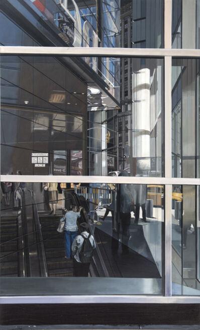 Richard Estes, 'Escalator at Columbus Circle Subway Station ', 2017