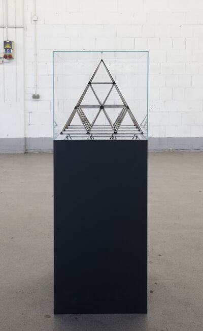Mahmoud Obaidi, 'The Hidden Pyramids Within the Cube', 2013