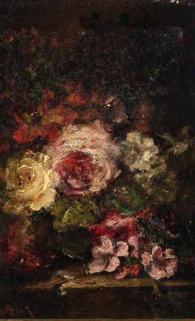 Narcisse-Virgile Diaz de la Peña, 'Roses'