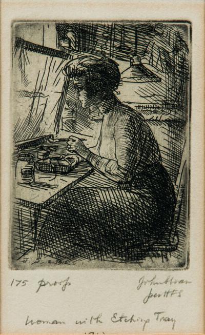 John Sloan, 'Three Works'