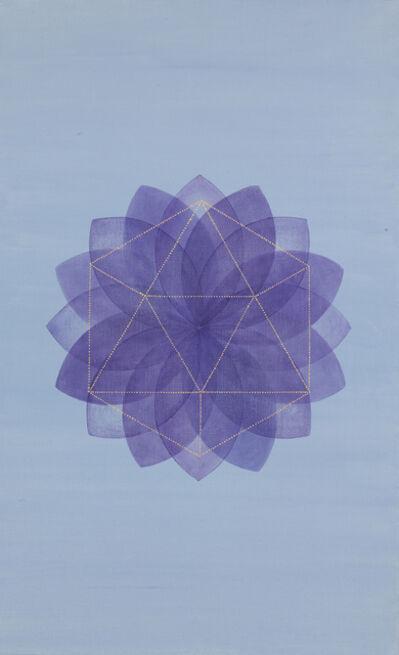 Grace DeGennaro, 'Blossom (Ultramarine Violet)', 2018