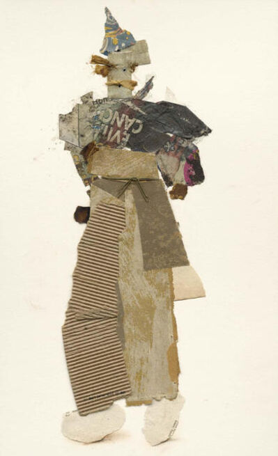 Ben Schonzeit, 'Healdsburg Vagabond, Mix Media Collage Series', 2015