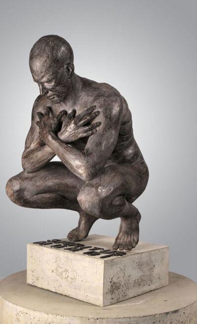 Anton Smit, 'Crouching Man '