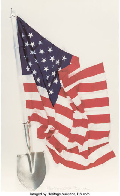 Robert Rauschenberg, 'Democratic Presidential Campaign Print', 2000