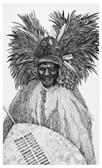 Aleta Armstrong, 'King Sobhuza II', 2018