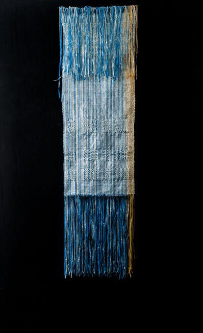 Soukaïna Aziz El Idrissi, '24 Shaft Blue/orange', 2014
