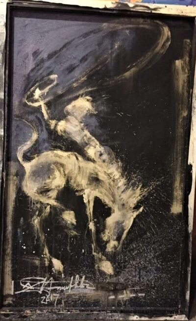Richard Hambleton, 'Horse and Rider ', 2017