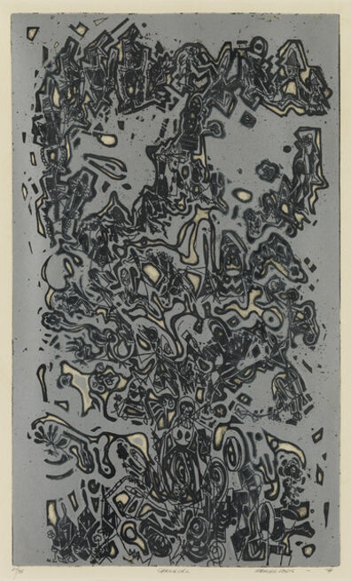 Norman W. Lewis, 'Carnaval(e).', 1974