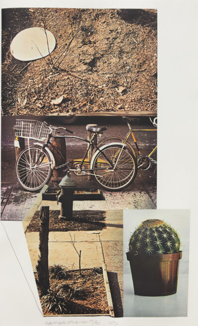 Robert Rauschenberg, 'Street Sounds West', 1993