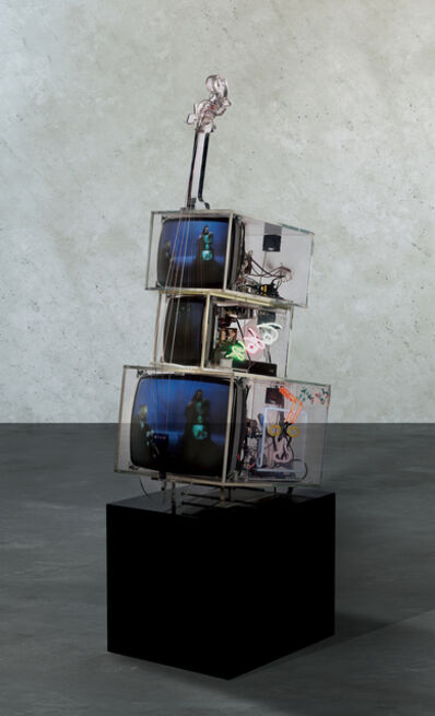 Nam June Paik, 'TV Cello', 1998