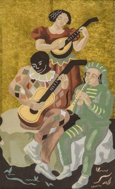 Gino Severini, 'Fleurs et masques: le concert', 1930