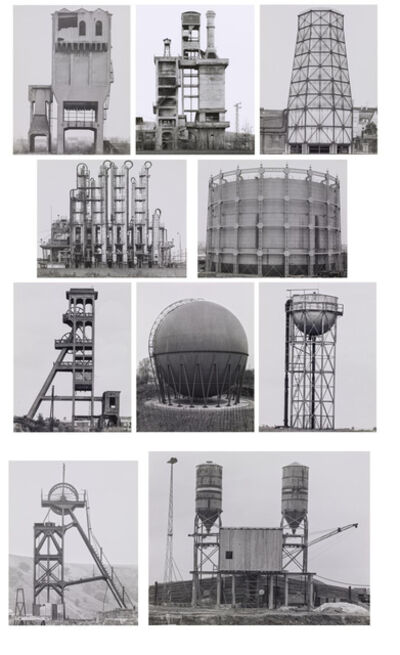 Bernd and Hilla Becher, 'Industriebauten (Portfolio)', 1968