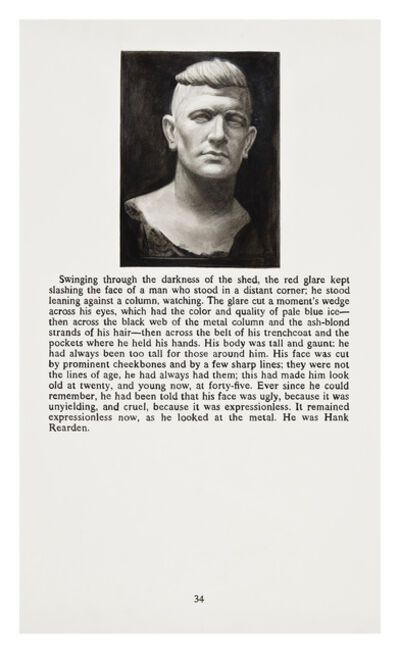 Yevgeniy Fiks, 'Ayn Rand in Illustrations (Atlas Shrugged, page 34)', 2010