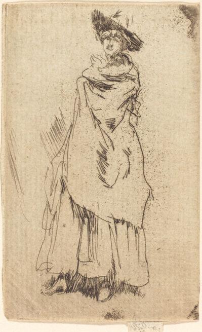 James Abbott McNeill Whistler, 'The Mantle'
