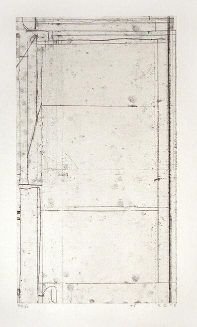 Richard Diebenkorn, 'SIX SOFTGROUNDS #6', 1978