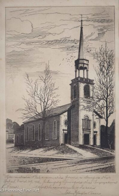 John Taylor Arms, 'Greenfield Hill Congregational Church', 1946