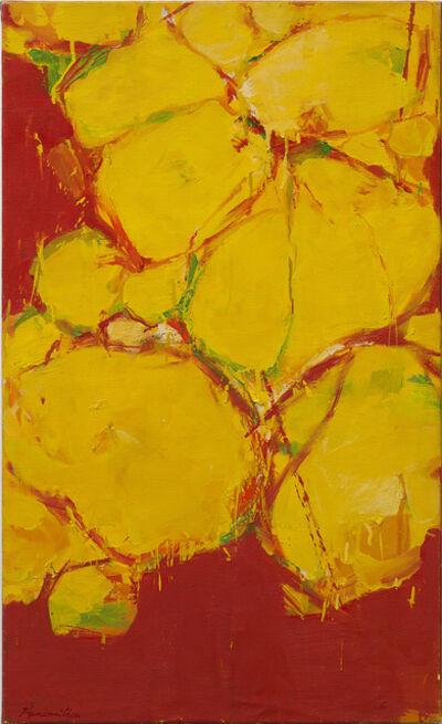 Matsumi Kanemitsu, 'Untitled (Yellow)', 1960