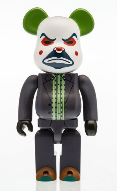 BE@RBRICK X DC Comics, 'The Joker 400% (Bank Robber Version), from The Dark Knight', 2016
