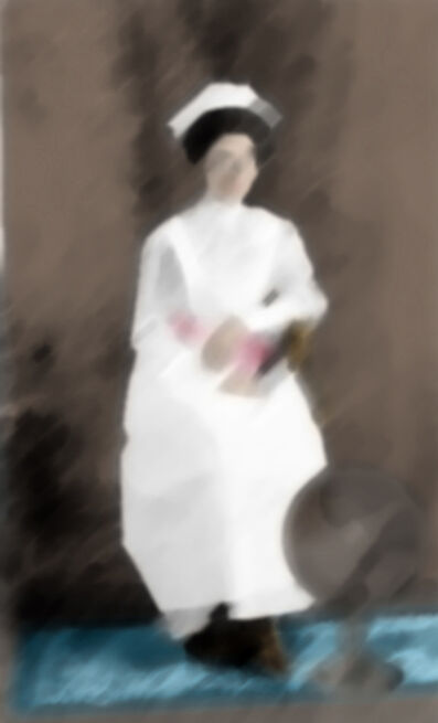 Malekeh Nayiny, 'In White', 2010