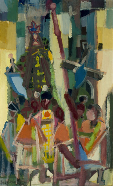 Eduard Bargheer, 'Processione (Venerdi Santo)'