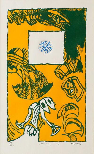 Pierre Alechinsky, 'Herbes Potagéres', 1978