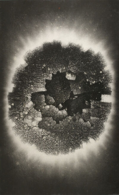 Zhang Yu 張羽, 'Divine Light Series No. 59: The Floating Incomplete Circle 灵光59号:漂浮的残圆', 1998