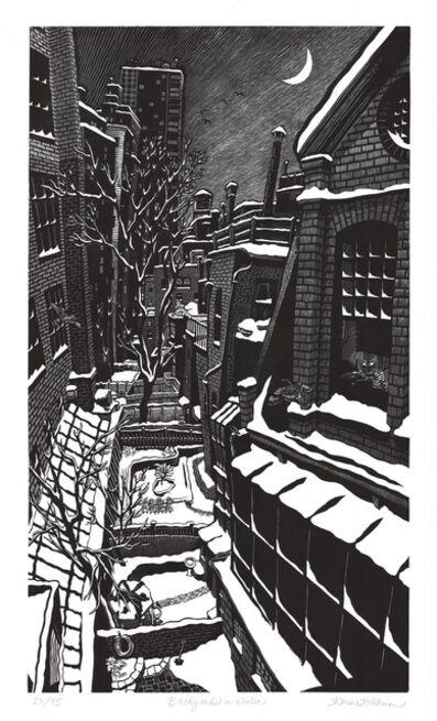 Karen Whitman, 'Backyards in Winter', 2005